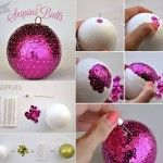 Easy To Make Pearls Christmas Tree Ornaments - DIY - Find Fun Art Projects to Do at Home and Arts and Crafts Ideas | Find Fun Art Projects to Do at Home and Arts and Crafts Ideas
