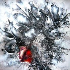 death blossoms by David Choe.