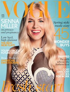 Vogue April, Sienna Miller