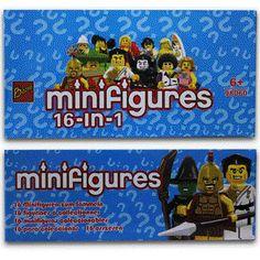 #minifigures #lego #INDOSOCCERSTARZ  #tokoonline #tokomainan #mainananak #mainanlego #tangerang #juallego #bukalapak #tokopedia LEGO Bozhi Minifigures Seri 2 ( 16 in 1 )