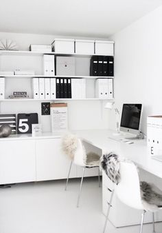 Beautiful white desk