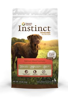 Nature's Variety Instinct Grain-Free Salmon Meal Formula Dry Dog Food