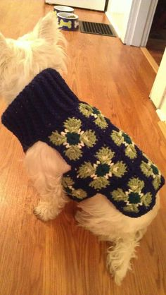 Ready to ship- Posh Pet Sweater. Turtle-neck, extra thick and warm, super soft, extra adorable. Size medium.. $45.00, via Etsy.