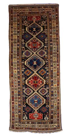 Caucasian Shirvan rug, late 19th Century