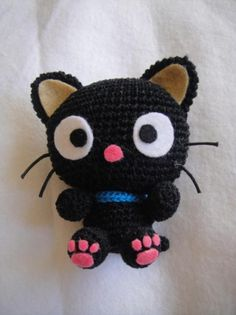 patrón amigurumi chococat - gato kitty pdf  lana,hilo,fieltro ganchillo,crochet