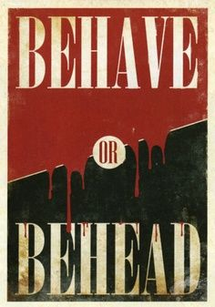 """Fable 3 """"Behave OR Behead"""" poster Video Game Art, Video Games, Fable 2, We Happy Few, Medieval Fantasy, Dragon Age, Legend Of Zelda, Illustrations Posters, Nerdy"""