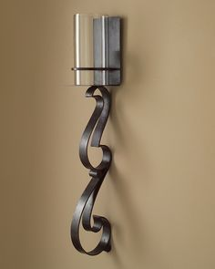 Hand Forged Iron Wall Sconce JRA-7863