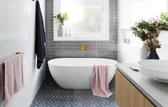 10 beautiful bathrooms to inspire your next makeover