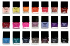I'm one of those weird ladies who actually enjoy doing her own manicures (I find it relaxing) and I want ALL of the Butter London nail polishes!