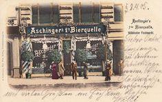 Aschinger´s 1te Bierquelle, Köllnischer Fischmarkt, 1905.