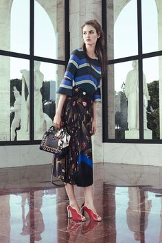 """Fendi Resort. Modest Fashion doesn't mean frumpy! Fashion Tips (and a free eBook) here: http://eepurl.com/4jcGX Do your clothing choices, manners, and poise portray the image you want to send? """"Dress how you wish to be dealt with!"""" (E. Jean) http://www.colleenhammond.com/"""