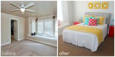 Bowcutt's Flooring America Carpet Makeover at SixSistersStuff.com.  Come see how @Bowcutt's Flooring America helped transform the look of our master bedroom! #carpet #homedecor