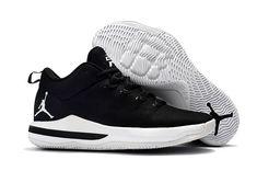 brand new 9ef55 9fbc6 Mens Nike Air Jordan CP3 X Basketball Black White Shoes,Jordan-CP3 Shoes  Sale