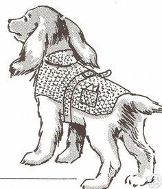 Dog Sweater Hood Coat Puppy Pet Crochet Pattern All Szs | eBay