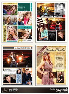 photoDUDS | Ambition Senior Yearbook Ads
