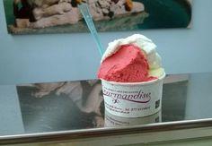 La Gourmandise – Via F. Cavallotti 36/b, Roma (Lazio)Lampone all'acqua di rose, crumble di pere (senza latte), zafferano al croccante di noci vi faranno innamorare de la Gourmandise.