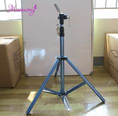 Tools & Accessories Just Harmony 1 Piece Lf-6307a Stable Aluminium Alloy Tripod Floor Holder For Training Doll Head Mannequin Manikin Canvas Block Head Hair Extensions & Wigs