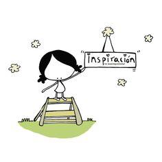 Jo, estoy rodeadita de inspiración... una conversación cotidiana, el cielo partido por el sol, la lluvia golpeando la ventana, una carcajada abierta (¡y uiiiii si esa es compartida!), una mirada tuya(suma y sigue...¿y tú, dónde encuentras tus fuentes de inspiración?) Eeeegunon mundo!! ::: inspiraziñuez josie inspiration :::