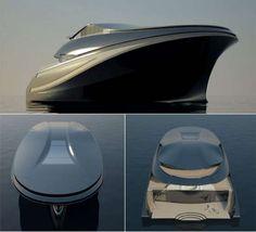 Charlie Baker Creates the Ultimate Vessel for Entrepreneurs #yachts trendhunter.com