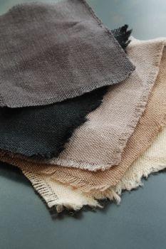 CARAVANE chanvre teint pour rideaux