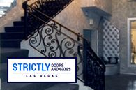 STAIR RAILINGS #StrictlyDoorsandGates #LASVEGAS