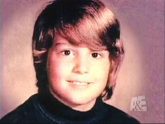 Johnny Depp in childhood