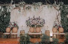 New wedding decorations indoor inspiration ideas - Hochzeit Wedding Ceremony Ideas, Wedding Ceremony Checklist, Wedding Stage Backdrop, Wedding Backdrop Design, Wedding Stage Design, Wedding Photography Checklist, Wedding Stage Decorations, Wedding Mandap, Wedding Receptions