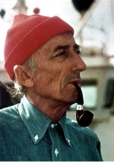 Jacques Cousteau : The Plato, The Colombus, The Magellan of the under sea world. One of my heroes.