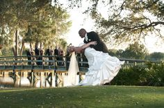 Such a stunning photo from a wedding at University Park Country Club in Sarasota. You don't have to be a member to get married here! #UniversityParkWeddings http://www.universitypark-fl.com/weddings/  Photo by Al Gordon