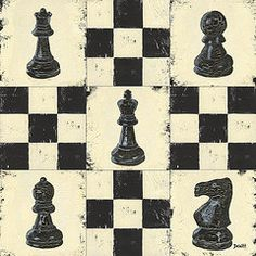 Debbie DeWitt - Chess Pieces