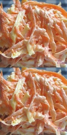 Carrot salad with egg - you can even at night! Easy Casserole Recipes For Dinner Beef, Crockpot Steak Recipes, Dinner Recipes Easy Quick, Baked Chicken Recipes, Cooking Recipes, Cauliflower Recipes, Best Lunch Recipes, Healthy Recipes, Food Platters
