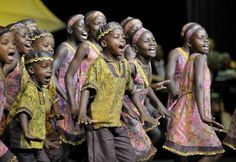 East Africa Children's Choir.