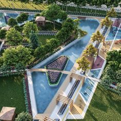 We are PTM, we are designing for The World @ Everything for more green cities Landscape Architecture Drawing, Landscape Design Plans, Architecture Portfolio, Concept Architecture, Landscaping Design, Park Landscape, Urban Landscape, Parque Linear, Urban Design Concept