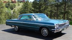 1964 Chevrolet Impala SS presented as Lot at Denver, CO 1969 Chevy Impala, 64 Impala, Chevrolet Corvette, Chevy Classic, Classic Cars, Air Shocks, Chevrolet 3100, Crate Engines, Best Muscle Cars