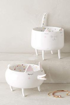 Domesticated Trinket Dish - anthropologie.com #anthrofave