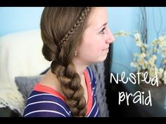 The Nested Side Braid by Brooklyn | Cute Girls Hairstyles