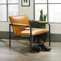 Relax in style with the Boulevard Café Lounge Chair. Great for a living room or home office, this minimalist chair is a cozy place to rest after a busy day. Metal Chairs, Side Chairs, Leather Chairs, Dining Chairs, Lounge Chairs, Room Chairs, Desk Chairs, Office Chairs, Industrial Bedroom Design