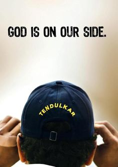 God is on our side. Test Cricket, Cricket Sport, Sachin Tendulkar Quotes, Sachin A Billion Dreams, Gym Motivation Wallpaper, History Of Cricket, Cricket Quotes, India Cricket Team, Dhoni Wallpapers