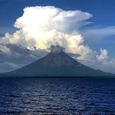 Volcán Concepción - Nicaragua Ontario, Ometepe, Native Country, Mount Rainier, Beaches, Posters, Mountains, World, Drawings