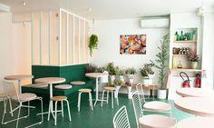 Salle Café Restauration Peonies Paris Clémentine Levy