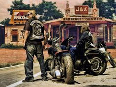 Sons Of Anarchy .... by Rat Rod Studios