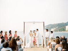 Puerto Vallarta Wedding at La Mansion  Read more - http://www.stylemepretty.com/destination-weddings/2014/02/28/puerto-vallarta-wedding-at-la-mansion/