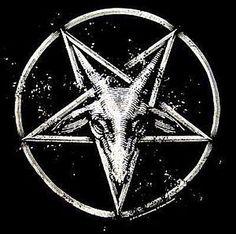 Vocalist in black metal band Hiidenhauta. Baphomet, Laveyan Satanism, Satanic Art, Evil Art, Dark Artwork, Dark Pictures, Occult Art, Dark Lord, Aesthetic Collage