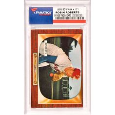 Robin Roberts Philadelphia Phillies 1955 Bowman #171 Card -