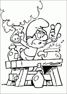 48 The Smurfs Printable Coloring Pages For Kids Find On Book Thousands Of
