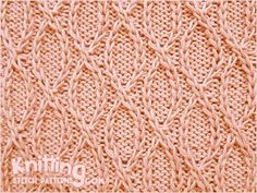 Knitting Stitch Patterns By no means comprehensive but there are quite a few patterns in an attractive layout.