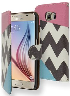 Samsung Galaxy S6 Wallet Phone Case.