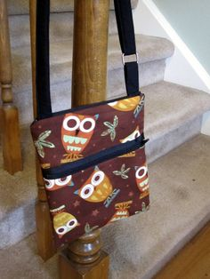 Wise Owl CrossBody Hipster Bag including Matching by sunsetdreams, $27.00  @Kim Michels @mommab Presnell.