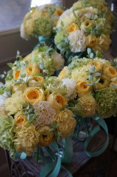 rose,carnation and mint Amazing Flowers, Love Flowers, Fresh Flowers, Yellow Bouquets, Flower Bouquets, Wedding Bouquets, Wedding Flowers, Floral Texture, Floral Crown