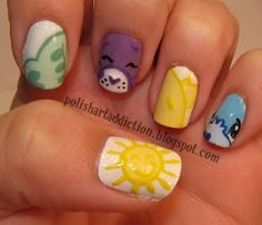 care bears nails